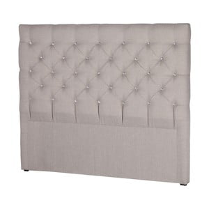 Jasnoszary zagłówek łóżka Stella Cadente Pegaz, 180x118 cm