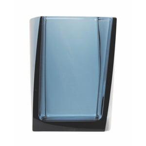 Kubek na szczotki do zębów Transparent Petrol Blue