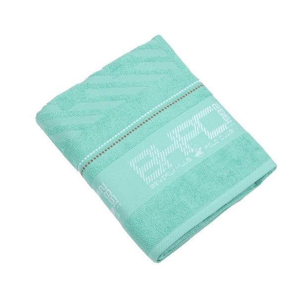 Ręcznik bawełniany BHPC 80x150 cm, pastelowy zielony