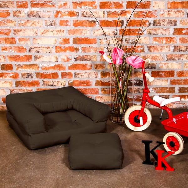 Fotel dziecięcy Karup Baby Cube Brown