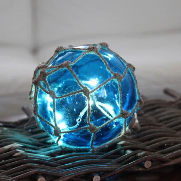 Świecąca dekoracja Noah Blue, 14 cm