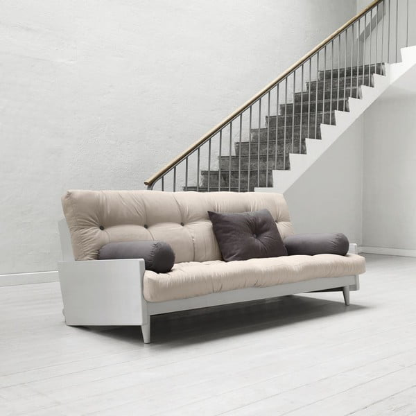 Sofa rozkładana Karup Indie Cool Gray/Vision/Gris