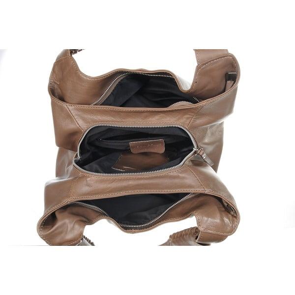 Skórzana torebka Soft Mood Taupe