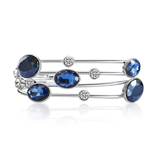 Bransoletka Swarovski Elements Blau Deep