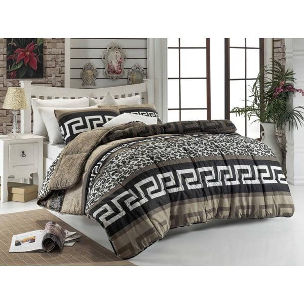 Narzuta pikowana na łóżko jednoosobowe Ettie, 155x215 cm