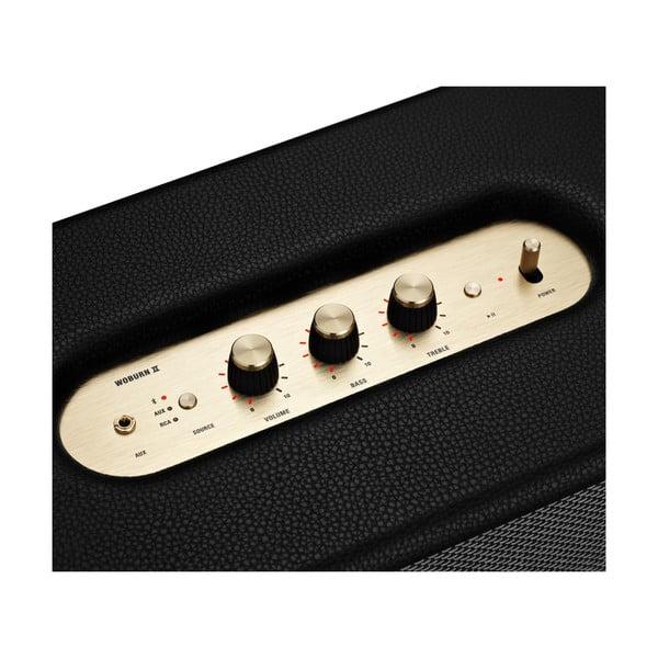 Czarny głośnik z funkcją Bluetooth Marshall Woburn II