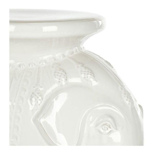 Biały stolik ceramiczny Safavieh Capri