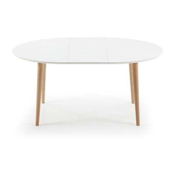 Biały stół rozkładany La Forma Oakland