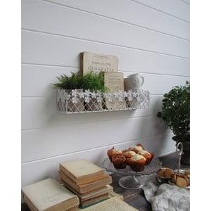 Półka ścienna White Antique, 54x10 cm
