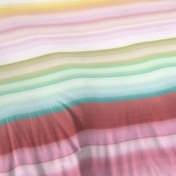 Pościel bawełniana w paski Muller Textiel Descanso, 240x200 cm