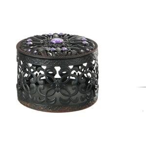 Metalowe pudełko na drobiazgi Baroq