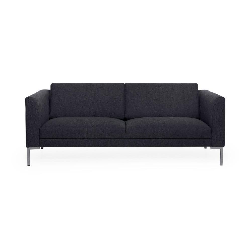 Antracytowa sofa Scandic Kery, 218 cm