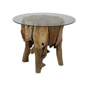 Stolik z drewna tekowego HSM Collection Paca