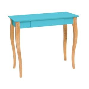 Ciemnoturkusowe biurko Ragaba Lillo, dł. 85 cm