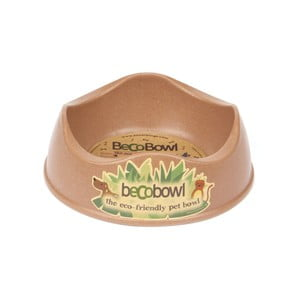 Miska dla psa/kota Beco Bowl 17 cm, brązowa