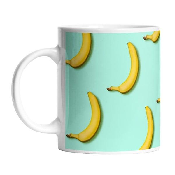 Ceramiczny kubek Bananas In Mint, 330 ml