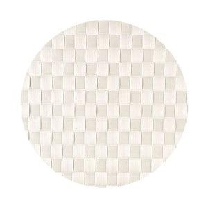 Mata stołowa West Round White, 36 cm