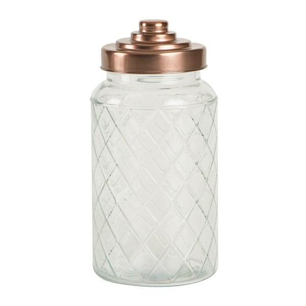 Szklany pojemnik T&G Woodware Lattice, 1200 ml