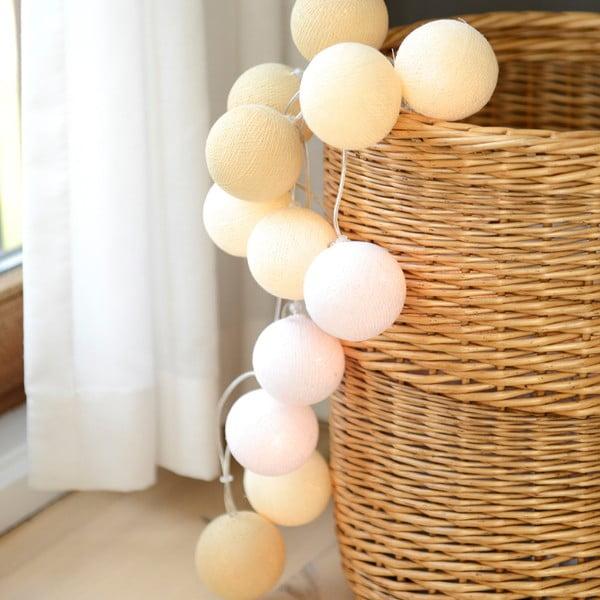 Girlanda świetlna Irislights Creamy White, 10 lampek