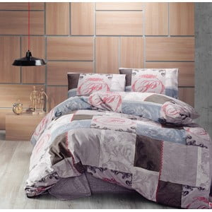 Pikowana narzuta i 2 poszewki na poduszki Seasons 246, 220x230 cm