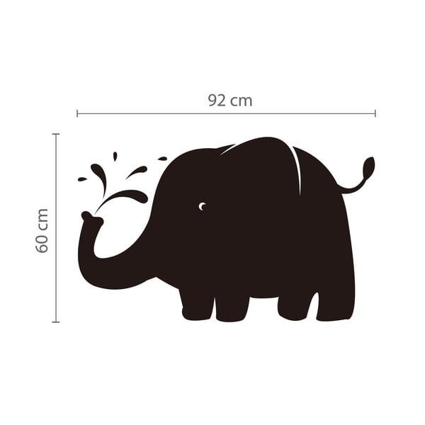 Naklejka/tablica Słoń