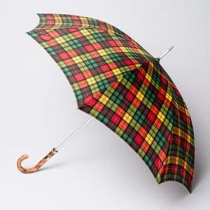 Parasol Alvarez Tartan Green