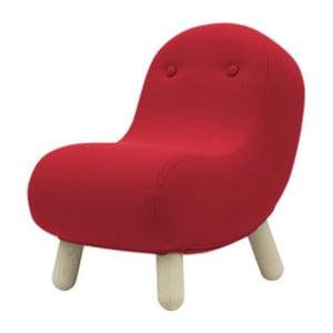 Czerwony fotel Softline Bob Valencia Red