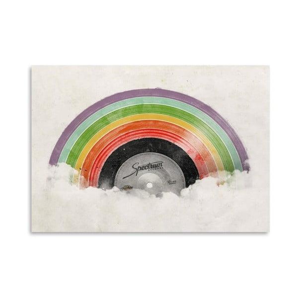 Plakat Rainbow, 30x42 cm