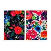 Zestaw 2 notatników A5 Portico Designs Bold Floral