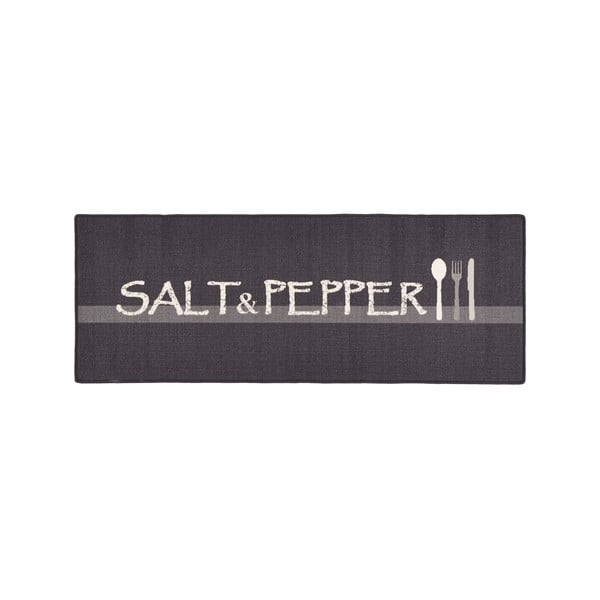 Szary dywan do kuchni HanseHomeSalt&Pepper, 67x180cm