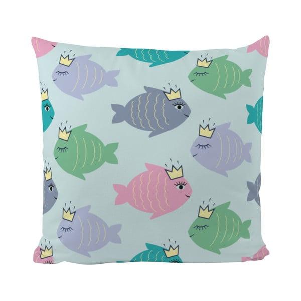 Poduszka   Fish With Crown, 50x50 cm