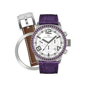 Zegarek damski Marc Coblen z dodatkowym paskiem i obręczą P12