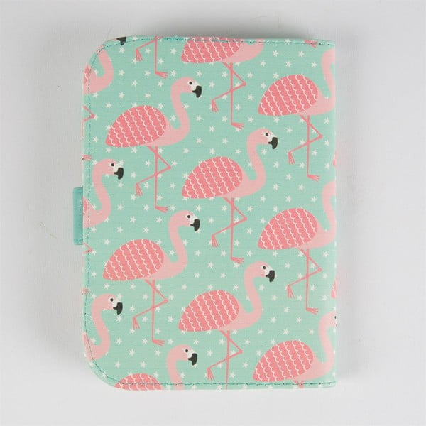 Etui na paszport Sass & Belle Tropical Flamingo