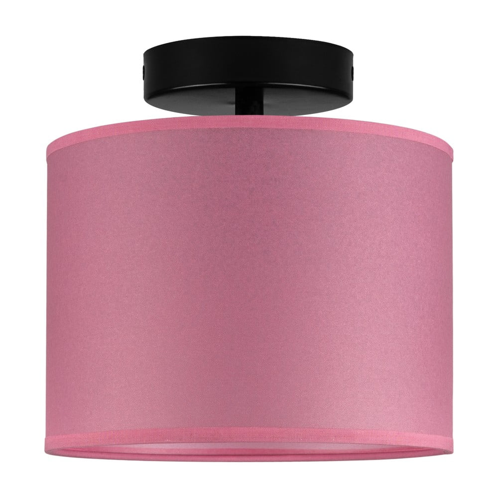 Różowa lampa sufitowa Sotto Luce Taiko
