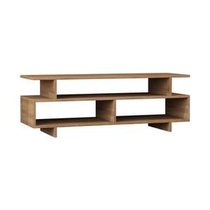 Szafka pod TV z dekorem drewna dębowego Parano