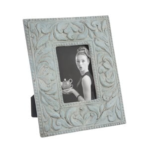 Ramka na zdjęcia Cement Frame in Blue, 31x25 cm