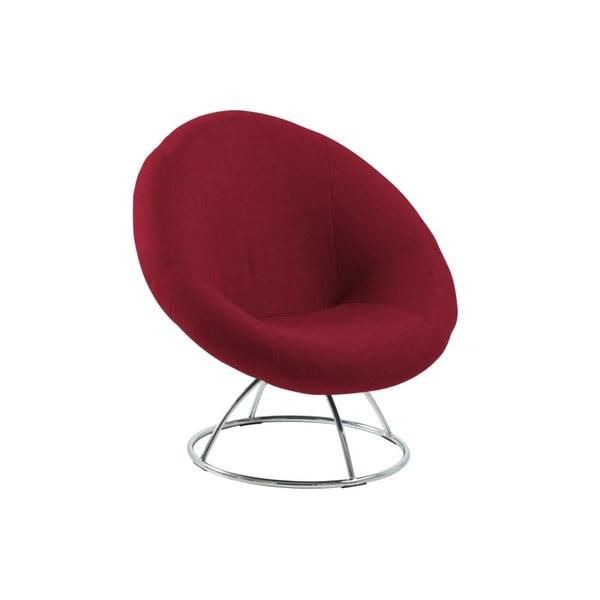 Fotel Garcia, czerwony
