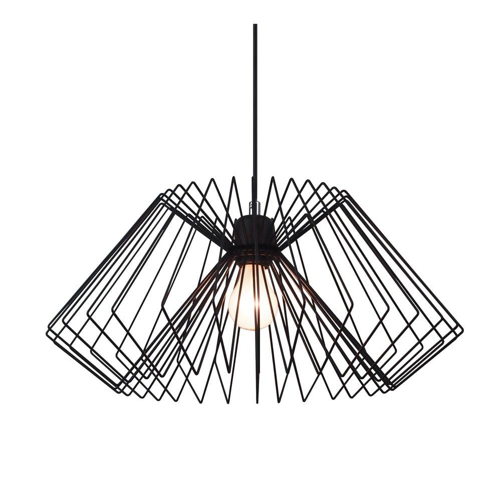 Czarna lampa wisząca Tomasucci Cage