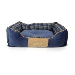 Legowisko dla psa Highland Box Bed L 75x60 cm, niebieskie