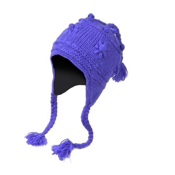 Wełniana czapka z uszami Violet Rustical