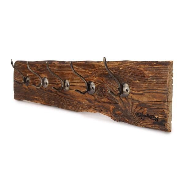 Wieszak drewniany Retro