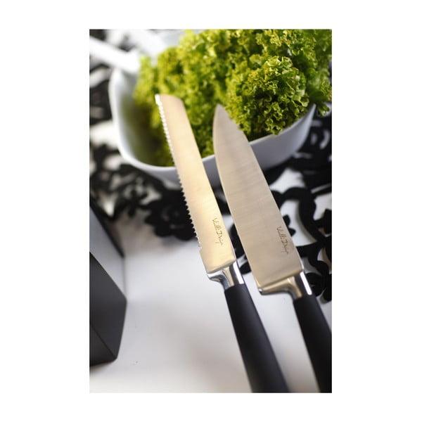 Stojak z nożami, biały