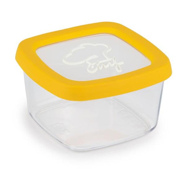 Żółty pojemnik na żywność Snips Chef, 0,5 l