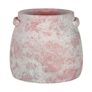 Różowa doniczka Mica Marnix, 19x22cm
