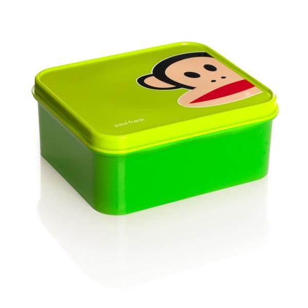 Zielone pudełko śniadaniowe Paul Frank