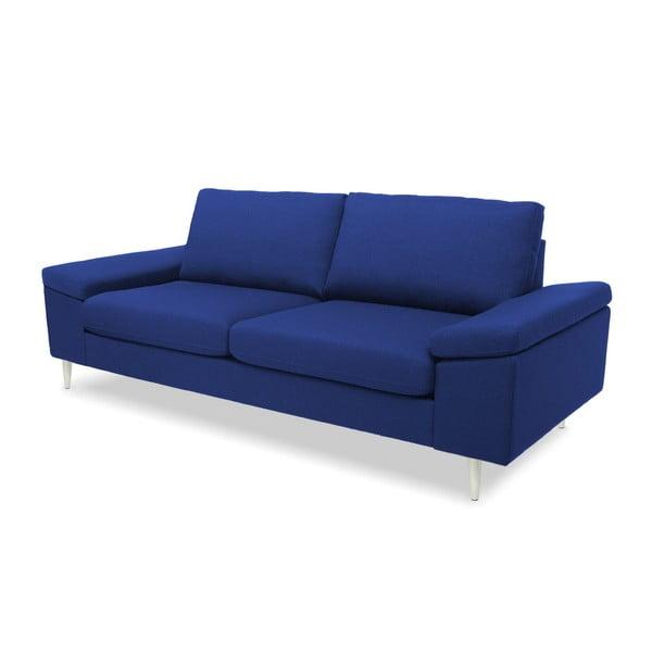 Niebieska sofa 3-osobowa Vivonita Nathan