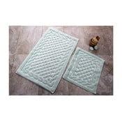 Zestaw 2 dywaników łazienkowych ze 100% bawełny Bambi Mint
