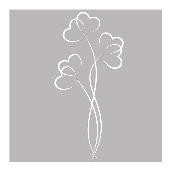 Naklejka Ambiance Flowers And Hearts