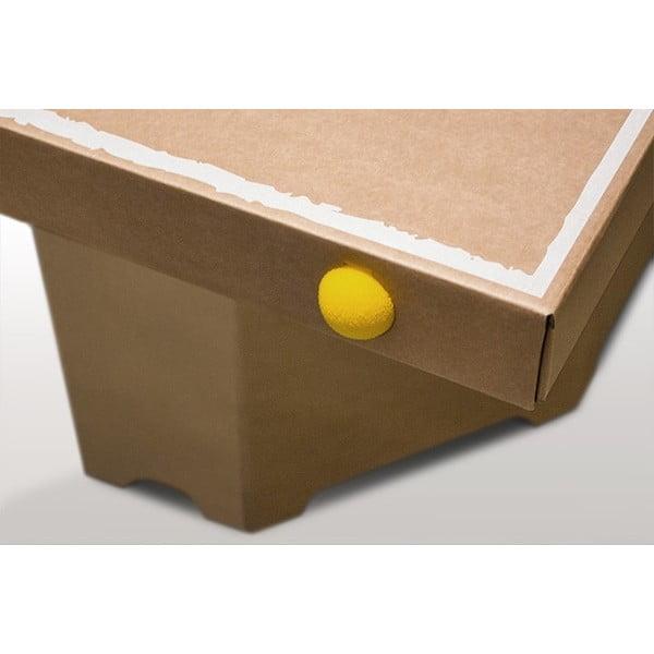 Kartonowy stół do ping-ponga Tennino, naturalny