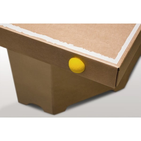 Kartonowy stół do ping-ponga Tennino, biały